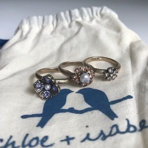 NWT Bon Chic Stackable Rings 🌺